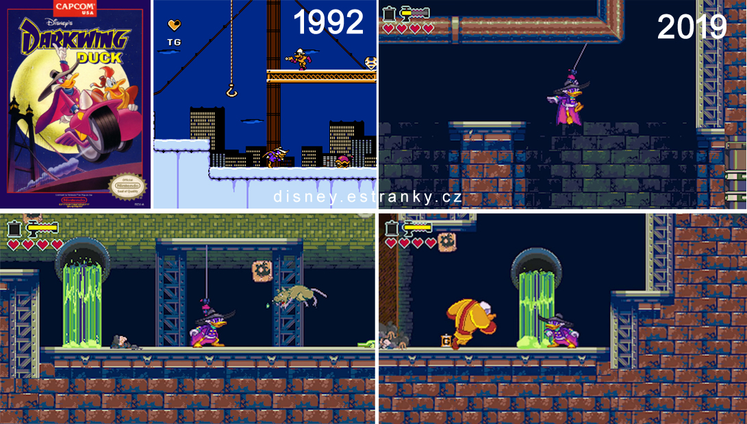 Darkwing Duck NEW nes game 2019 Kačer Kabrňák