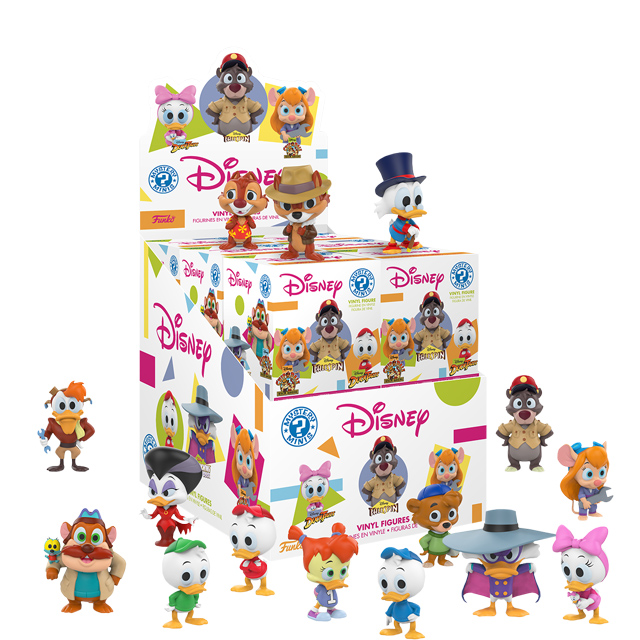 Disney Afternoon mini figurky mystery minies