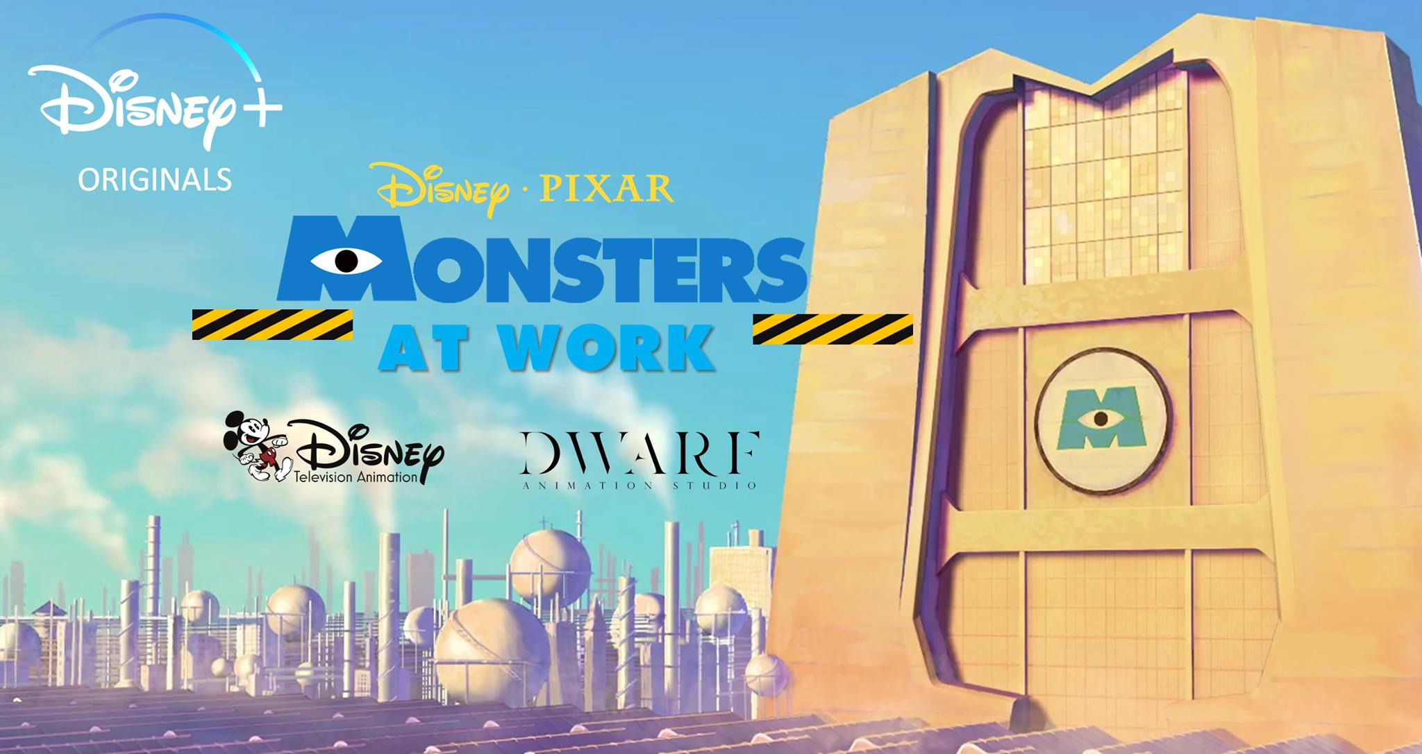 Monsters at Work Disney Plus