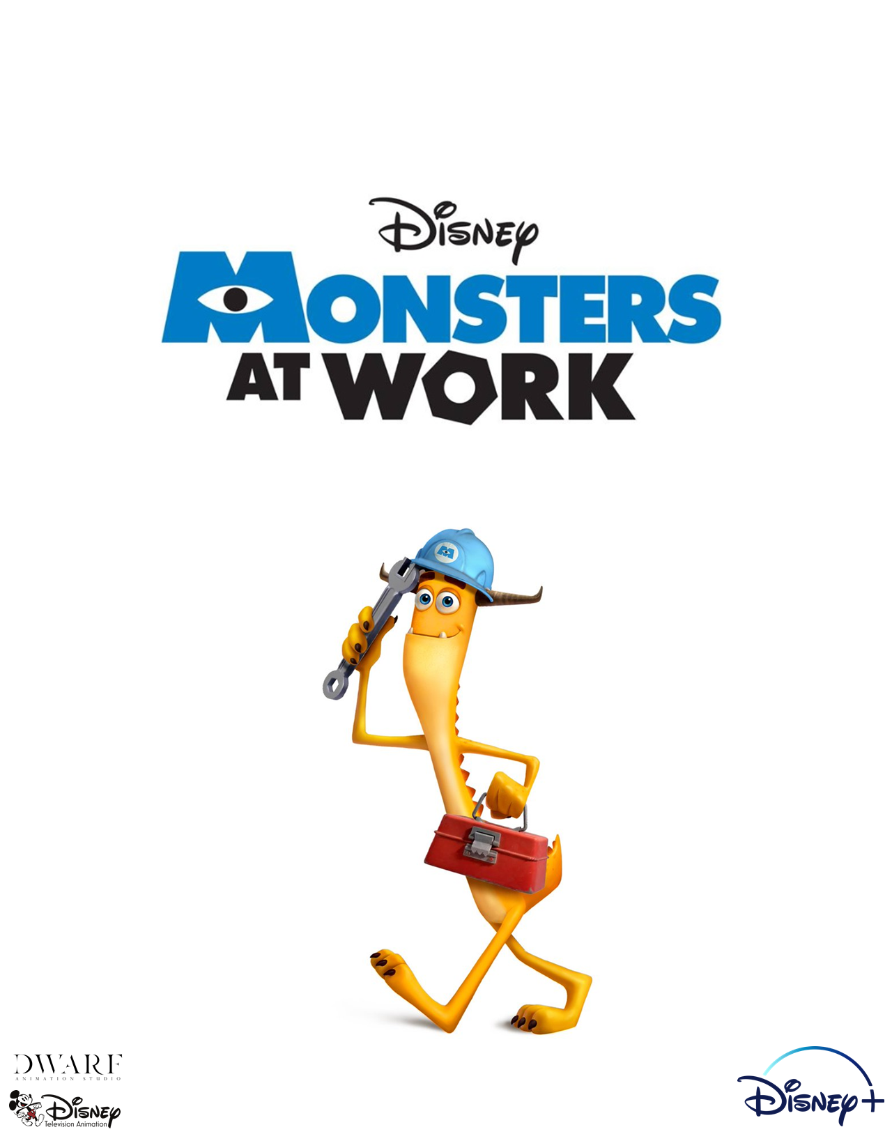 Monsters at Work plakát Disney seriál