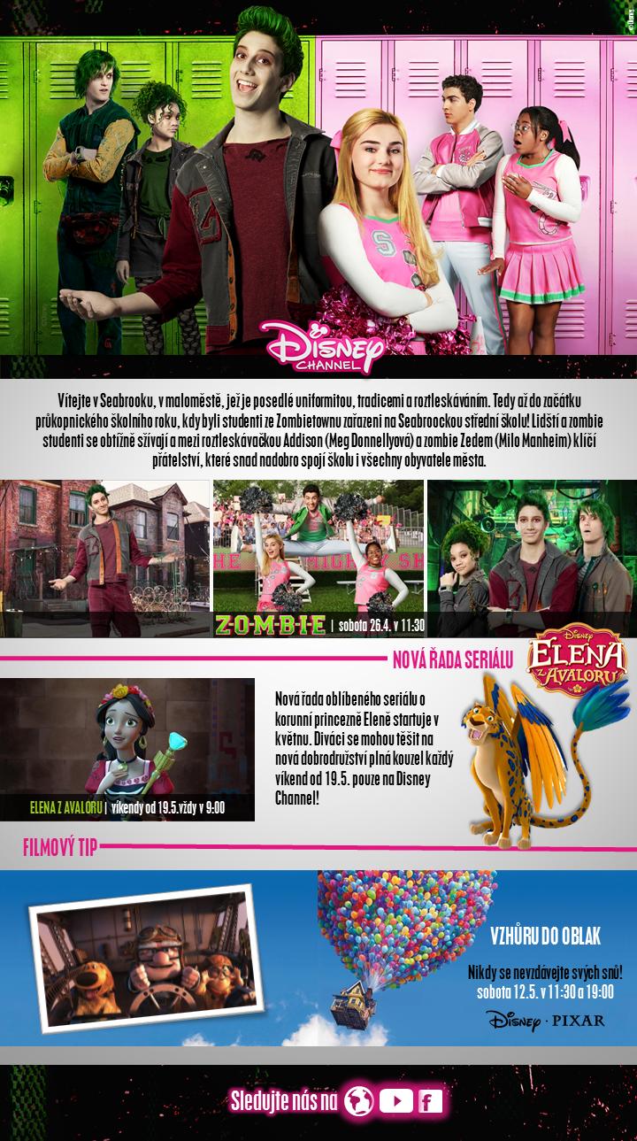 novinky na Disney Channel květen 2018